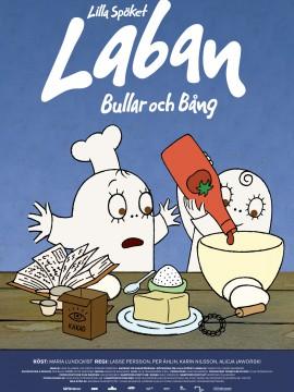 Lilla Spöket Laban - Bullar och Bång Affisch JPG