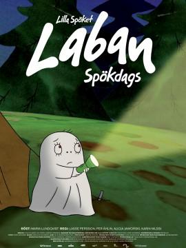 Lilla Spöket Laban - Spökdags Affisch JPG
